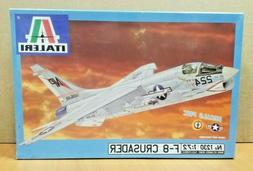 Italeri - No. 1230 - 1:72 Scale - F-8 Crusader Plastic Model