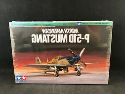 Tamiya North American P-51D Mustang 1:72 Scale Plastic Model