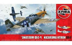 Airfix North American P51-D Mustang Filletless Tails 1:48 Mo