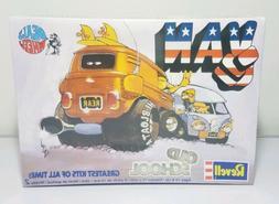 Revell Old School Van Model Kit 85-1745 Deals Wheels Greates