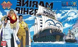 Bandai ONE PIECE GRAND SHIP COLLECTION 07 MARINE WARSHIP Pla