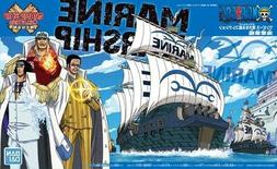 BANDAI One Piece GRAND SHIP COLLECTION【MARINE WARSHIP】#0