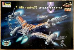 OoP Special Ed. Revell 1/72 Babylon5 Starfury Mk1, NIB & Sea