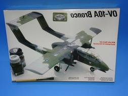 TESTORS OV-10A BRONCO MILITARY AIRCRAFT MODEL KIT SEALED.