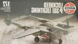 Airfix P-38F Lightning Plane 1:72 Scale Plastic Model Kit 03