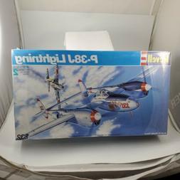 Revell P-38J Lightning 1/32 1:32 Scale Model Kit 4749 WWll P