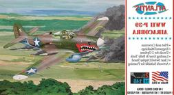 Atlantis P-39 Bell Airacobra WWII Fighter 1:46 scale model k