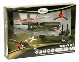 Testors P-40 Warhawk Aircraft Model Kit