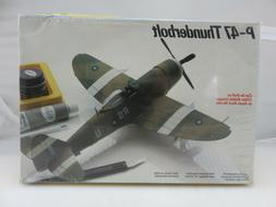 Testors P-47 THUNDERBOLT 1/48 Scale Plastic Model Kit 591 NE