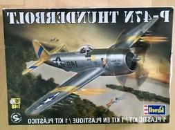 Revell P-47N Thunderbolt Plastic Kit. Model Plane
