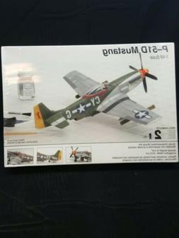 P-51D MUSTANG FIGHTER PLANE MODEL KIT 1:48 TESTORS NEW SEALE