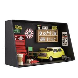 Paper Nano Garage Building set