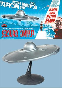 Plan 9 From Outer Space Flying Saucer Model Kit Polar Lights