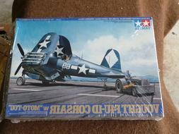 PLASTIC MODEL AIRPLANE,KIT,TAMIYA,,USAF,VOUGHT F4U-1D CORSAI