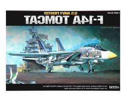 Academy Plastic Model Kit 1/48 F-14A Tomcat US Navy Fighter