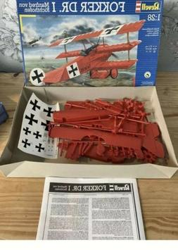 Revell Plastic Model Kit - Fokker Dr.I Richthofen Plane - 1: