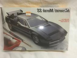 Testors plastic model kit Maserati Merak SS 1/24 #386 Sealed