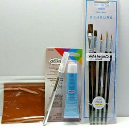 Plastic Model Knife/Glue/Brush/Sandpaper kit See Description