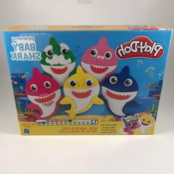 Play-Doh Baby Shark Modeling Clay Toddler Baby Activity Kit