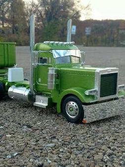 Polished Aluminum Model Truck Miter Stac