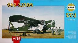 potez 540 french bomber 1 72 model