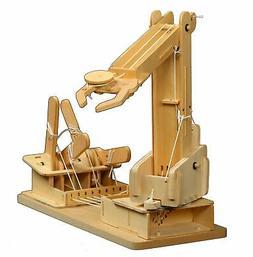 Pathfinders Premium Mega Builder Wooden Crane STEM Kit