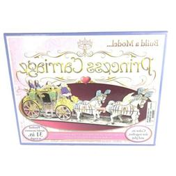 Princess Carriage Model Kit Diy Craft Creative Play Arts And