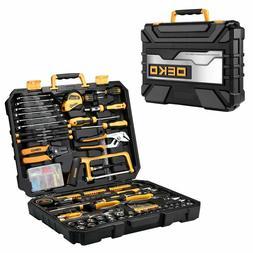DEKO 198 PCS General Household Hand Tool Set Home Repair Too