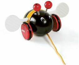 Brio PULL-ALONG BUMBLEBEE Baby Infant Toddler Wooden Toy