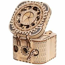 ROKR Puzzle Box 3D Wooden Puzzle Model Kits for Adults... FR