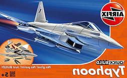 Airfix QUICK BUILD Eurofighter Typhoon  Plastic Model Kit J6
