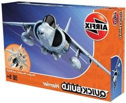 Airfix QUICK BUILD Harrier Plastic Model Kit J6009 BOX DAMAG