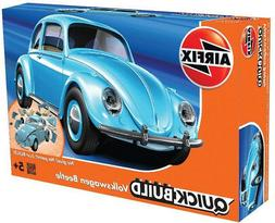 Airfix QUICK BUILD Light Blue Volkswagen VW Beetle Plastic M