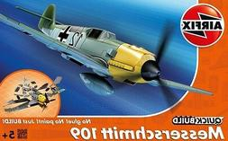 Airfix QUICK BUILD Messerschmitt Bf109e Plastic Model Kit J6