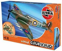 quickbuild supermarine spitfire airplane model kit