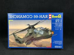 Revell RAH-66 Comanchee Helicopter 1:72 Scale Plastic Model