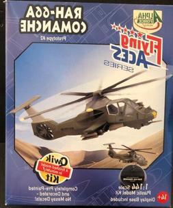 RAH-66A Comanche  1:144 Scale Qwik Kit Model Kit Alpha Force