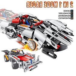 Brainnovative RC Construction Racer Kit, Build Your Own Race