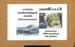 RetroKits Models JAGDPANTHER  Conversion Meng World War Toon