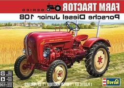 Revell 4485 Porsche Diesel Junior 108 Tractor plastic model