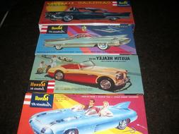 REVELL--AUTHENTIC **LOT of 4 **COMPLETELY FORMED PLASTIC*EAS