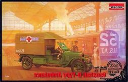 Roden Models 1/72 British WWI VAUXHALL D-TYPE AMBULANCE