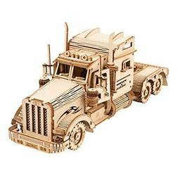 ROKR 3D Wooden Puzzles for Adults Mechanical Models Kits to