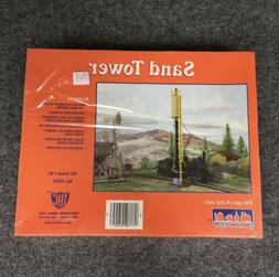 IHC SAND TOWER HO Scale Model Train Building Kit, #5005, NEW