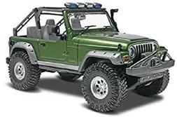 Scale 1/25 Model Car Truck Kit Jeep Wrangler Rubicon Plastic