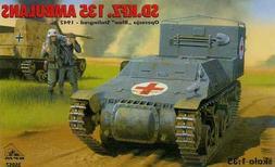 sd kfz 135 german ambulance stalingrad 1942