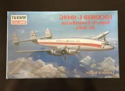 Sealed Minicraft Lockheed L-1049G Air India Model Airplane N