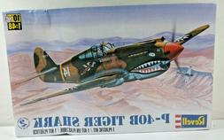 SEALED Revell P-40B Tiger Shark Fighter Military Plane Model