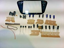 Sega Game Gear Capacitor Kit Covers All Models PLASTIC SCREE