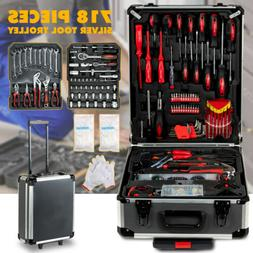 918 pcs Tool Set Standard Metric Mechanics Kit Case Box Orga
